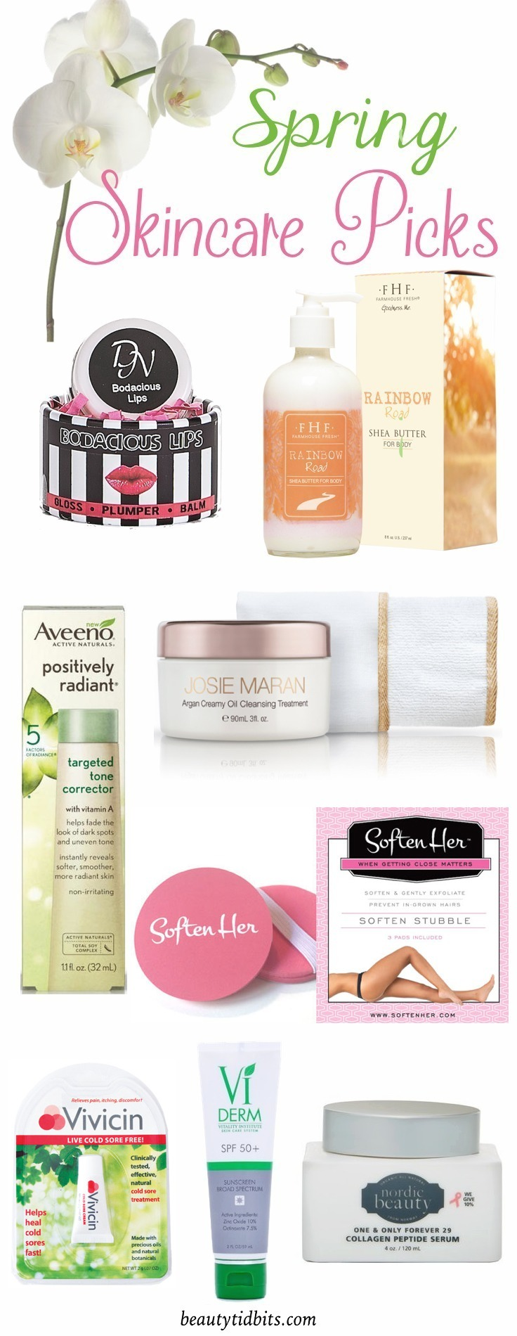 Spring-Skincare-products